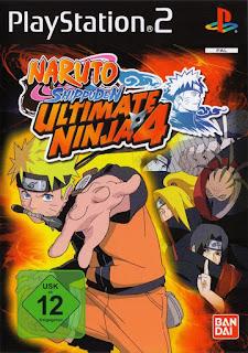 Naruto Shippuden - Ultimate Ninja 4 (Europe) PS2 ISO