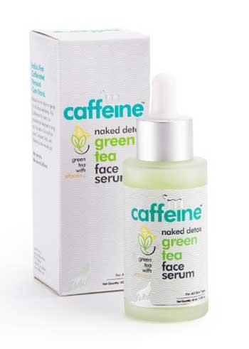 Naked Detox Green Tea Face Serum by mCaffeine