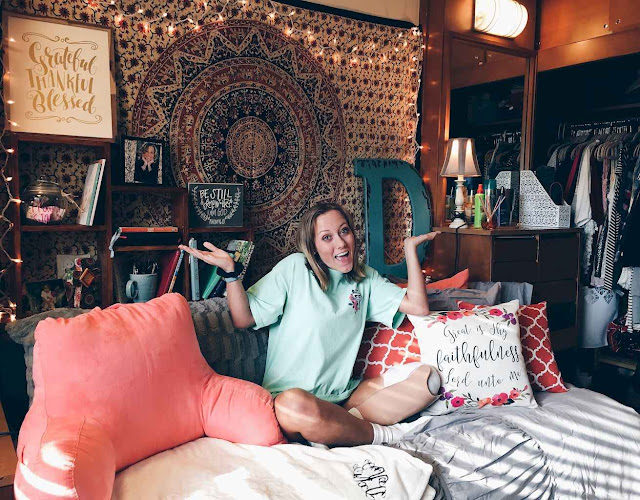 Genius Dorm Room Organization Ideas on A Budget
