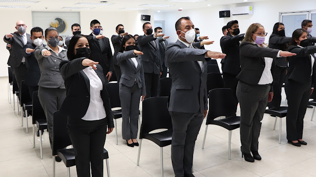 Fiscalía Puebla incorpora a 29 mujeres y hombres Agentes Investigadores
