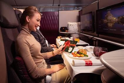 Qatar Airways Introduces Festive Touches