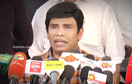 Anandaraj answers to media regarding ops vs Sasikala