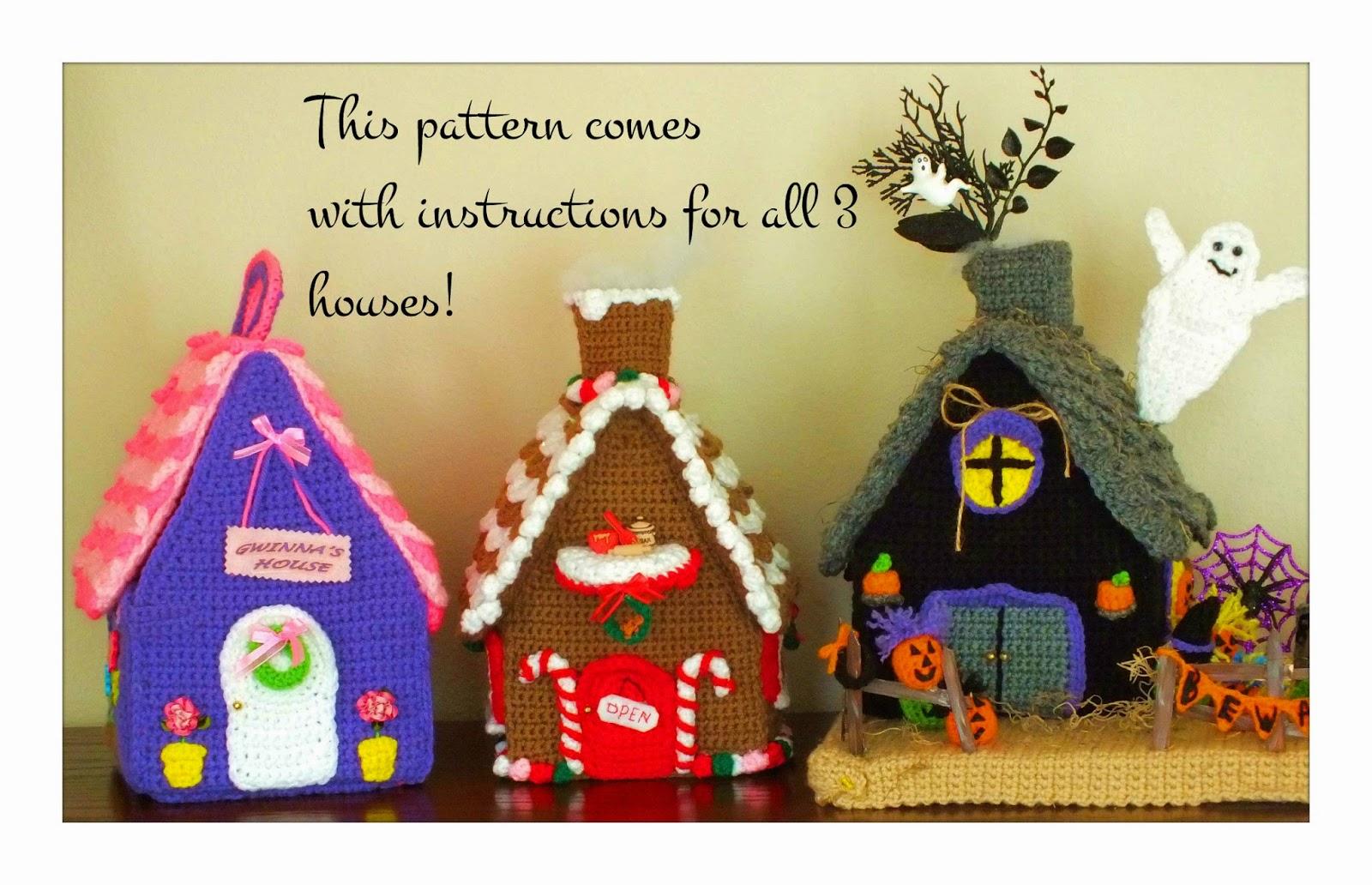 Ravelry: Take-Along Dollhouse pattern by Emma Varnam | 1032x1600