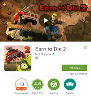 game android hd offline Zombie earn to die