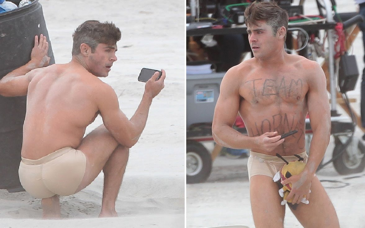 Zac efron goes naked talks about his boner