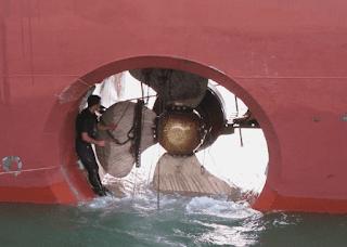tunnel thruster in ships, jenis propeller