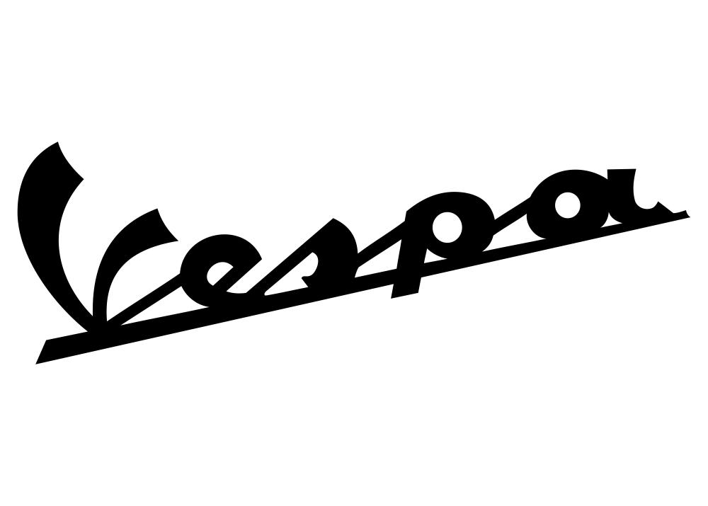 free cdr logo vector  vespa logo
