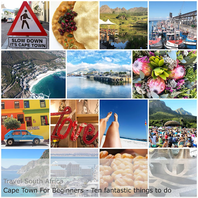 Travel South Africa. Ten fantastic things to do - Cape Town for Beginners