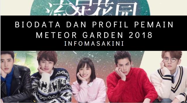 Biodata dan Profil Pemain Meteor Garden 2018(Umur, Tanggal Lahir, Asal,Tinggi)