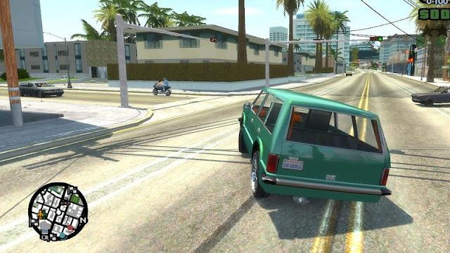 GTA San Andreas Real IV Cars Physics Remake Mod