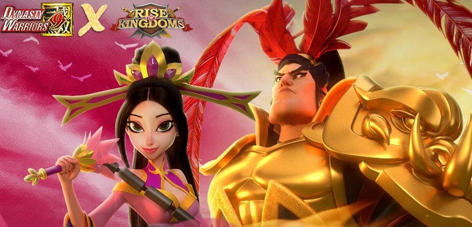 cara mendapatkan Lu Bu komandan Rise of Kingdoms