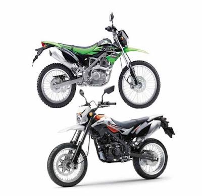 Perbedaan Kawasaki KLX 150 Dengan D'Tracker 150