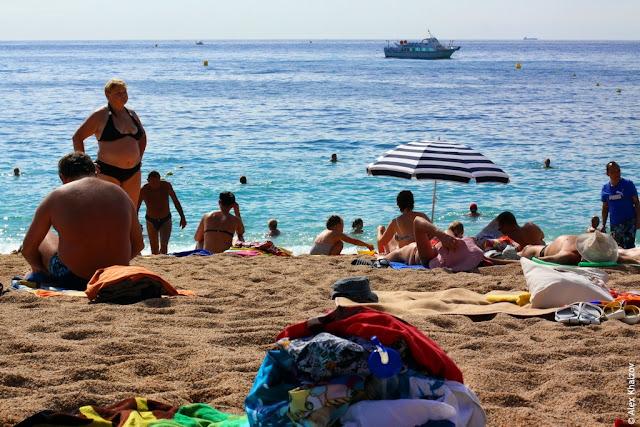 Пляж в Каталонии