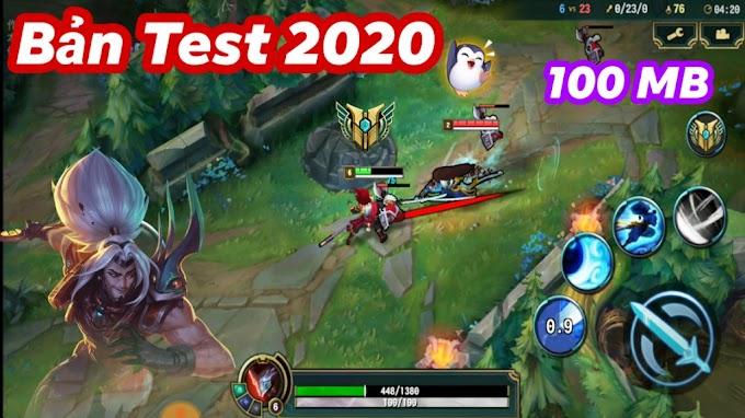 Update LOL Mobile bản test 2020 Yasuo với Đồ họa cực đẹp & Không cần Login cho Android