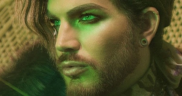 "Glam Rocker Adam Lambert Kicks Off New Era With Hazy ""New Eyes"" Lead Single"