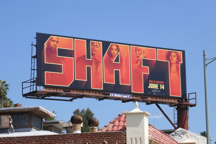 Shaft 2019 movie billboard