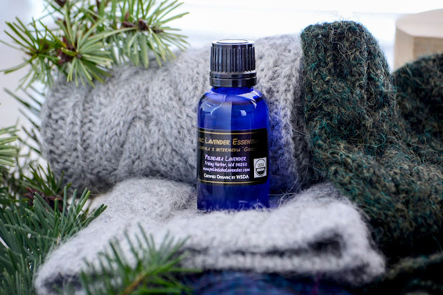 Lavender Essential Oil Non-Toxic Protection for Handmade Woolen Gifts