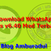Download WhatsApp plus v6.40 Apk Mod Terbaru