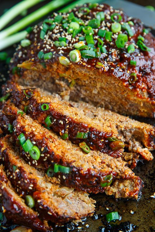 Korean Kimchi Meatloaf