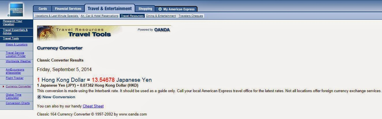 信用卡海外簽賬 和風初心者 喜歡日本旅