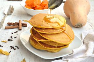 Thermomix Pumpkin Pancakes