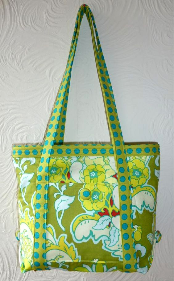 How to make a Tote Bag. Free Pattern + Tutorial