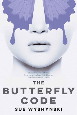 The Butterfly Code, Sue Wyshynski, book review, Girl on Fire