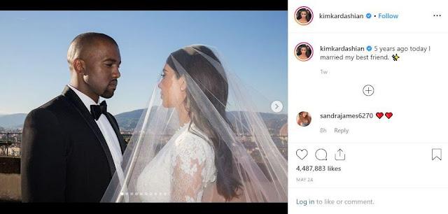 Kim Kardashian Instagram Terbaru dan Fakta Menariknya