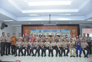 Wakapolda Jambi Buka Sosialisasi Perkap No 8 Tahun 2017