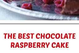The Best Chocolate Raspberry Cake
