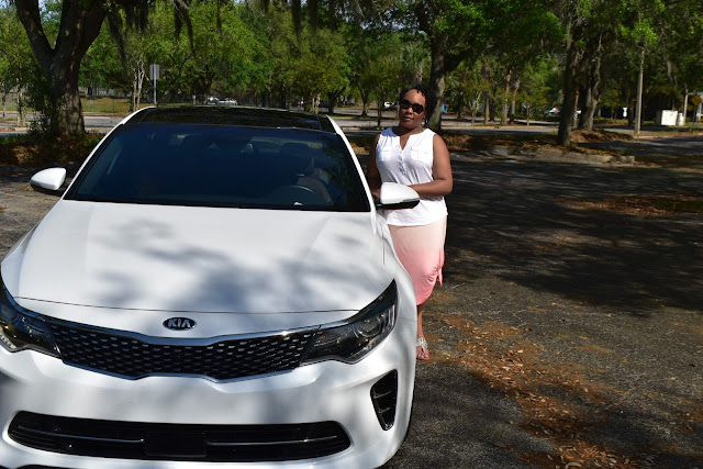 Ridin' Clean in the 2016 KIA Optima SX LTD in Orlando  via  www.productreviewmom.com
