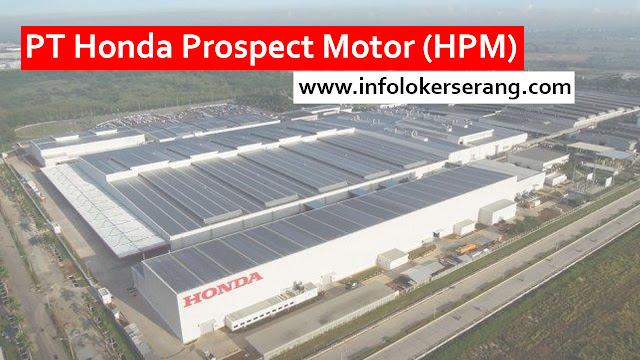 Lowongan Kerja Operator PT Honda Prospect Motor Karawang