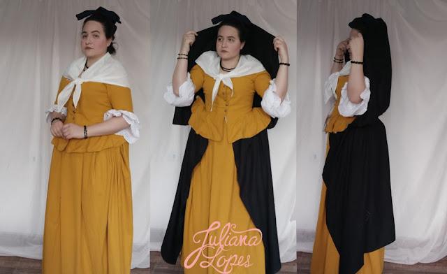 Traje Brasilis - vestindo a moda do brasil do século XVIII