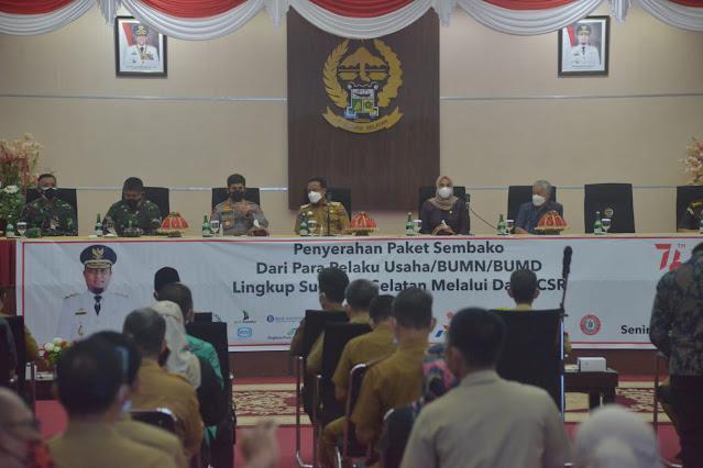 Sinjai 'Keciprat' Bantuan Paket Sembako dari Pemprov