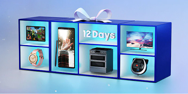 Samsung '12 Days of Deals' promotion