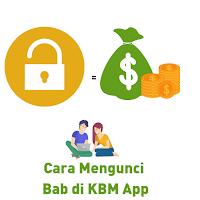 Cara kunci bab di KBM App
