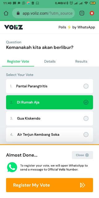 Cara Membuat Polling di Whatsapp 15