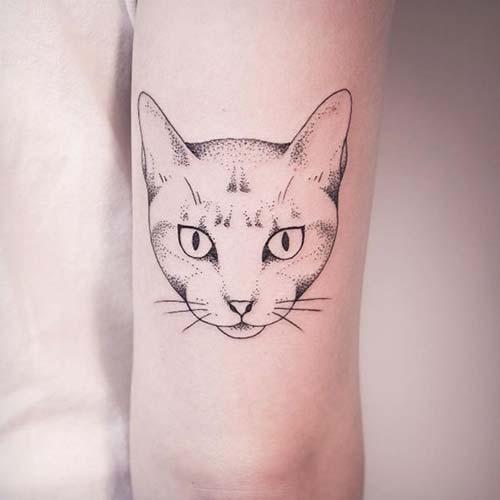 kedi dövmeleri cat tattoos 10