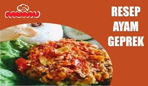 Resep Ayam Geprek Crispy