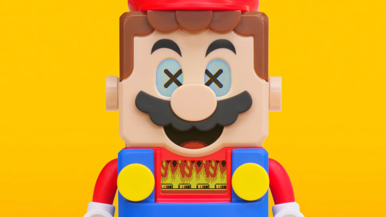 LEGOスーパーマリオ公式発表!ゲーム性高いインタラクティブセット