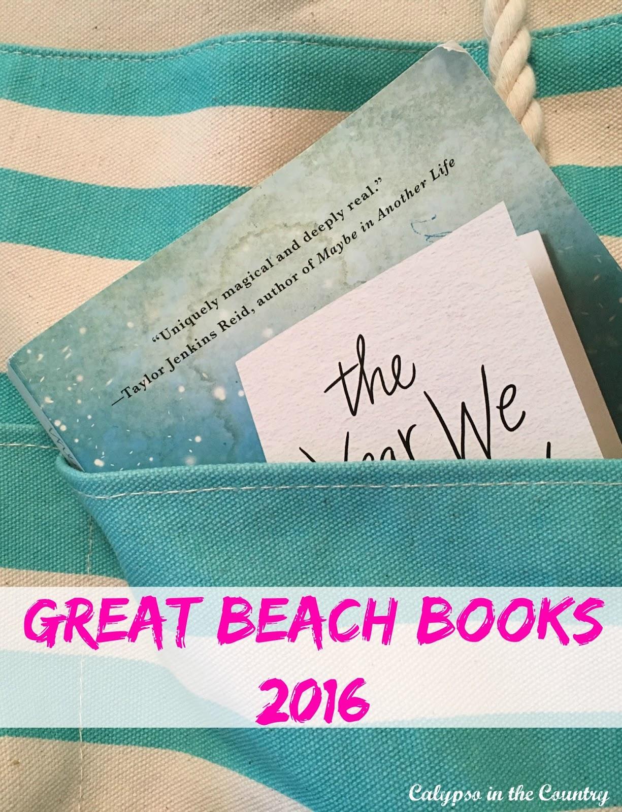 Great Beach Books 2016 - Fun books to read this summer!