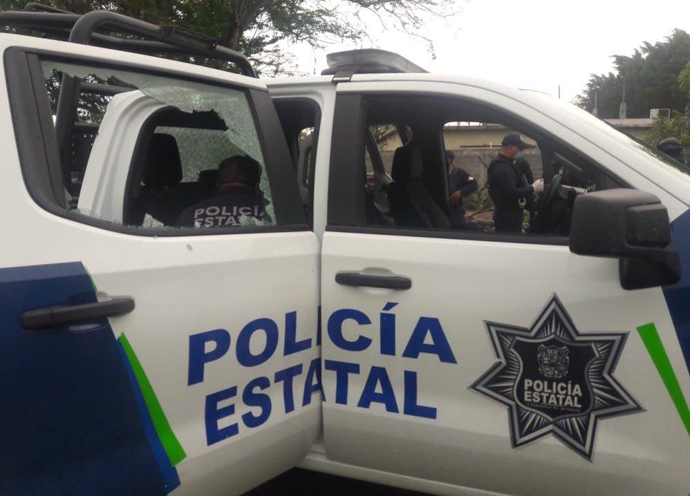 En Reynosa, Convoy de Sicarios ataca a Policías y huyen, deja aseguramiento de dos vehículos y armamento