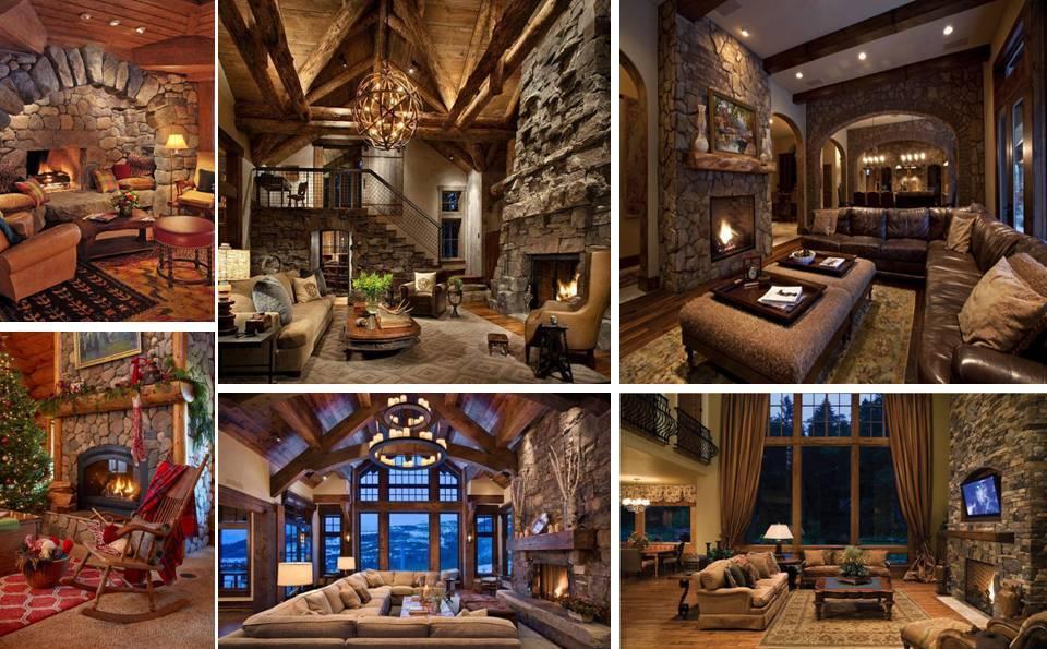 30 Beautiful Rustic Interior Designs Ideas