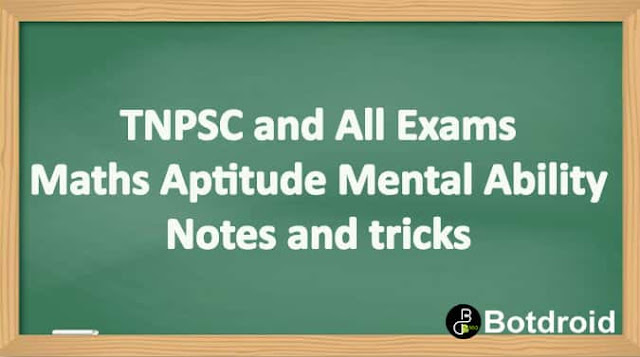 tnpsc maths aptitude questions