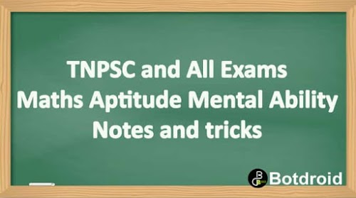 TNPSC Group 2A and 4 | SI Aptitude & Mental Ability 500 QA Study Material For Free Download
