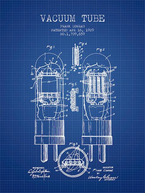 1929 Vacuum Tube Patent
