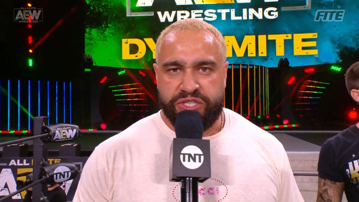 Miro lançou farpas na WWE e Vince McMahon em sua estreia no AEW Dynamite