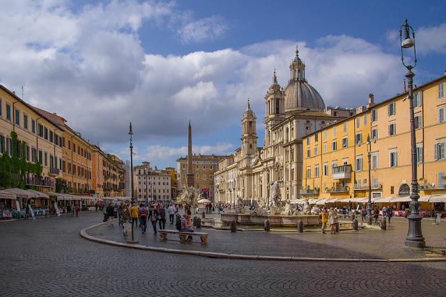 piazza Navona-Roma-terrazza Borromini