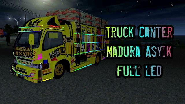 Truck canter madura asyik