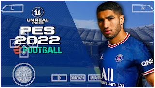 Download PES 2022 PPSSPP Camera PS5 Edition Best Graphics & New Update Full Latest Transfer Season 2021/22